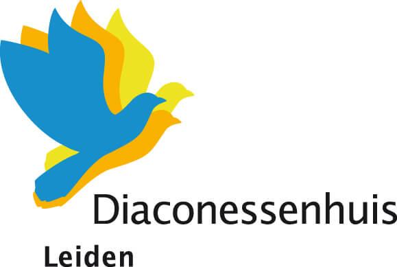 Logo van het Diaconessenhuis in Leiden.