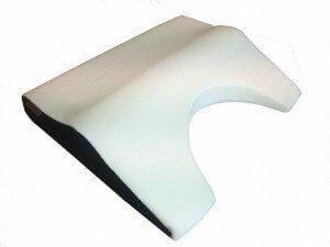 Een rendering van een OP1000 traagsschuim hoofdkussens met visco-elastische vol-kern.