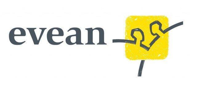 Het logo van Evean.