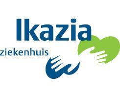 Logo van het Ikazia ziekenhuis.