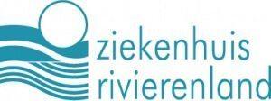 Het logo van het ziekenhuis Rivierenland.