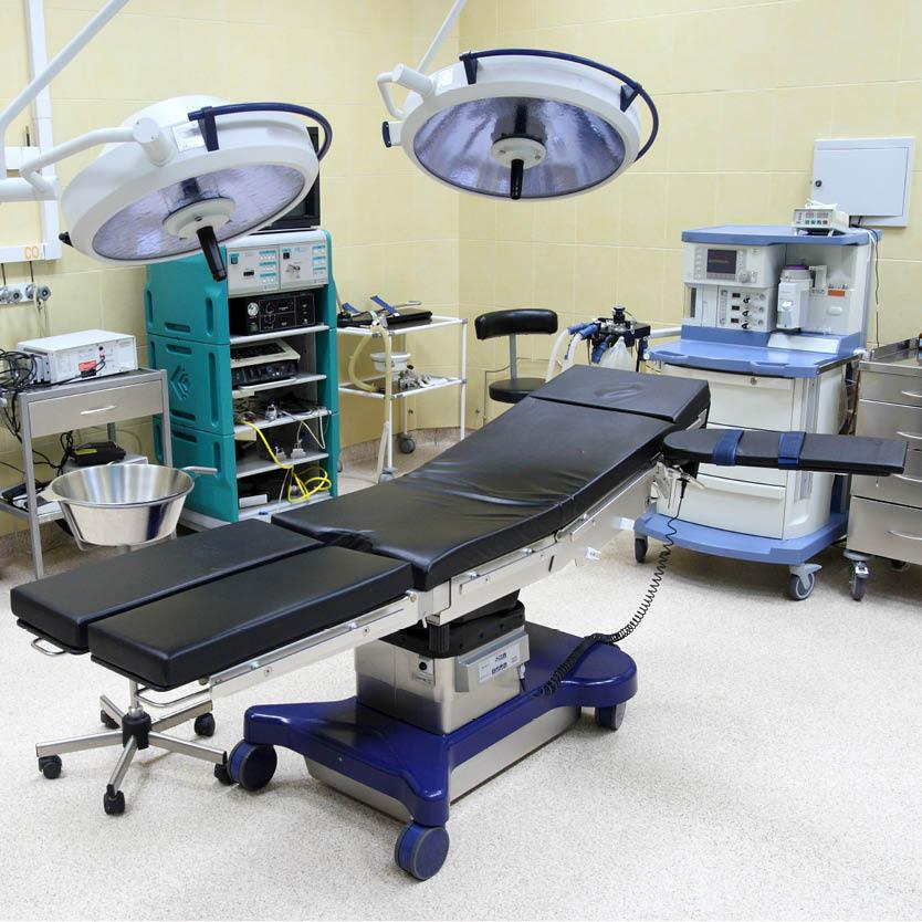 Een voorbeeld van hoe de Decupré operatietafelmatrassen eruit zien