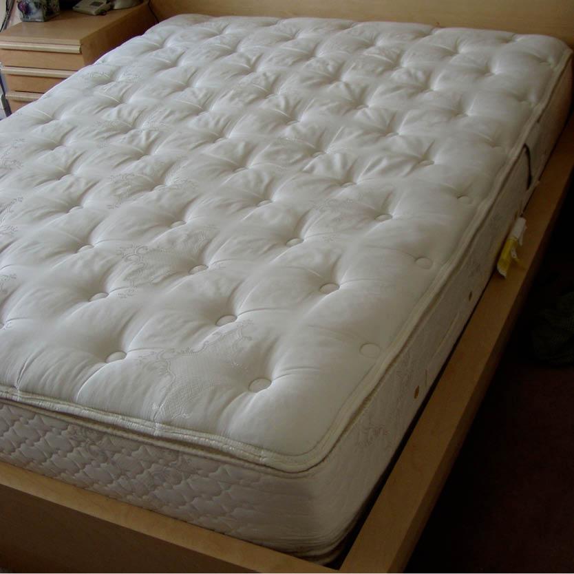 Een foto van een pocketveren matras