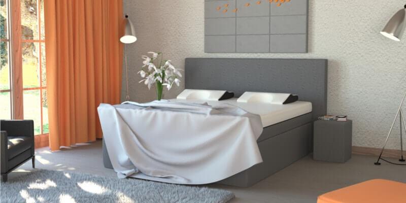 De zeer luxe Decupré boxspring biedt een ongeëvenaard hoog comfort en kleedt bovendien de slaapkamer mooi aan.