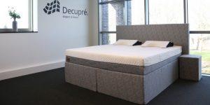 De zeer luxe boxspring van Decupré verbetert uw slaapcomfort.