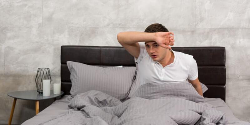Een latex matras wordt afgeraden indien u het vaak warm heeft tijdens het slapen.