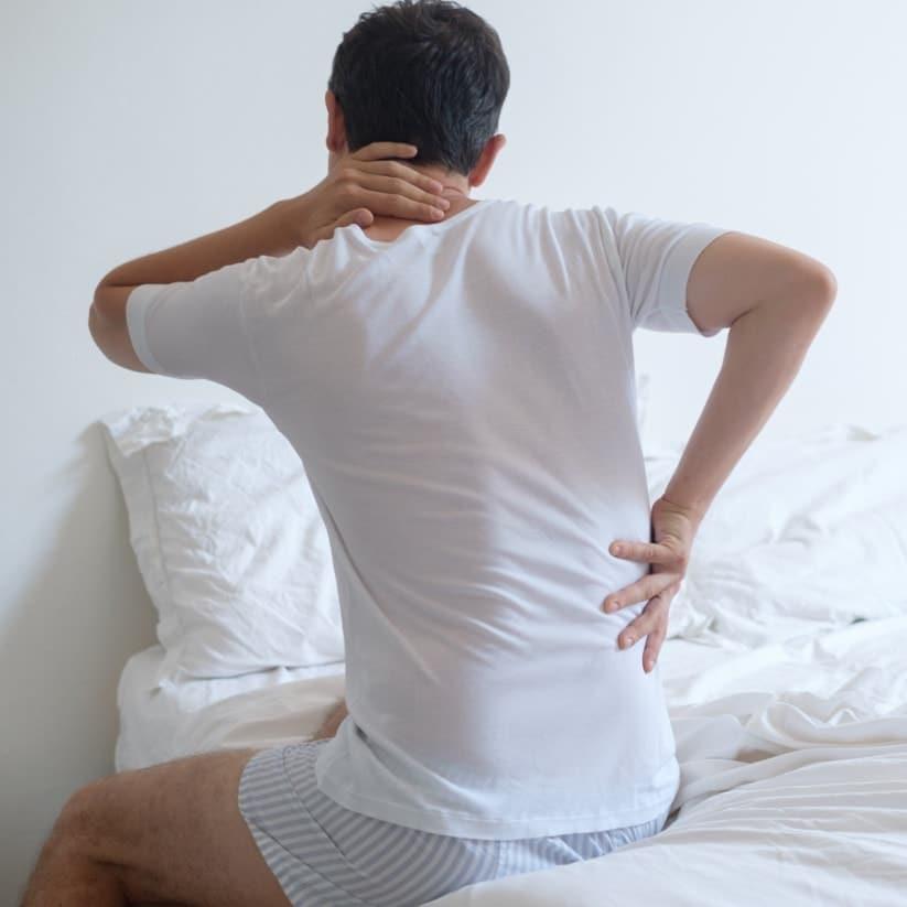Lichamelijke klachten kunnen veroorzaakt worden door een slecht of verouderd matras.