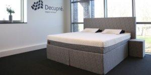 De zeer luxe boxspring van Decupré brengt uw slaapcomfort naar een hoger niveau.