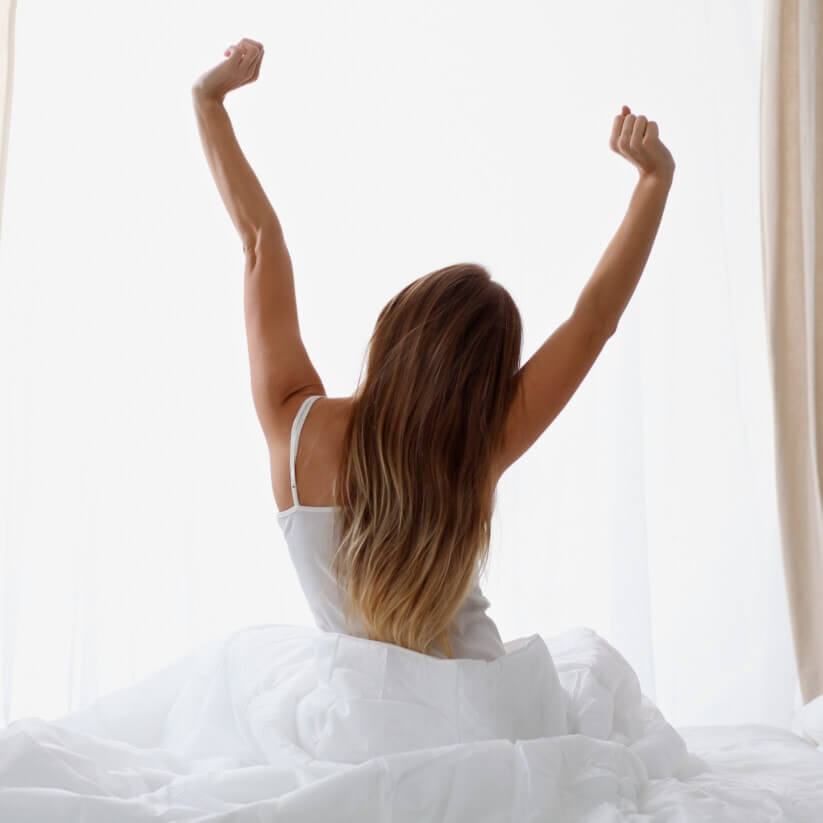 Een goede nachtrust vormt de basis voor een goede gezondheid.