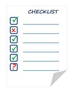Bepaal aan de hand van een checklist of het gaat om een goedkoop matras of niet.