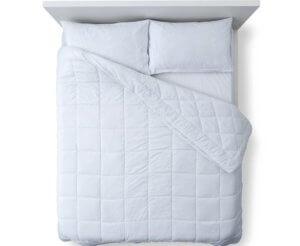 Een nieuw bed kopen: boxspring met matras.