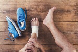 Fysiotherapie: voetblessure