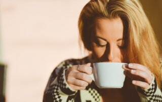 Kop-thee-drinken-koffie-slaap